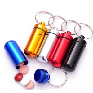 ۱PCS-Outdoor-Survival-Waterproof-Aluminum-Medicine-Bottles-Mini-Pocket-Pill-Bottle-Box-First-Aid-Kit-EDC