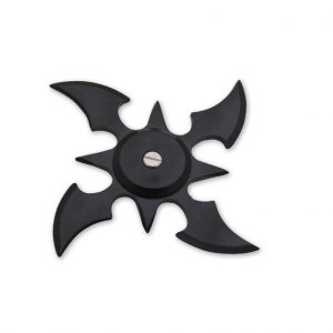 ۴-blade-weighted-throwing-star-black