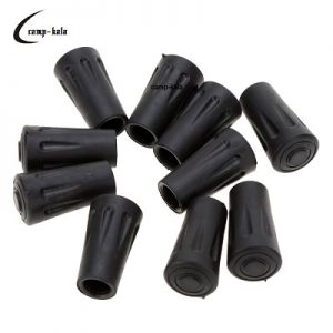 new-10pcs-hiking-pole-replacement-tips-trekking-pole-tip-protectors-walking-stick-head-protect-equipment-accessory