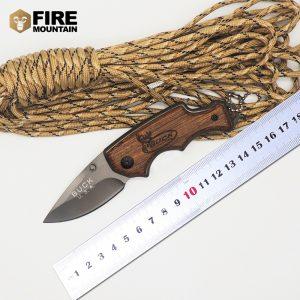 چاقو باک چوبی x44