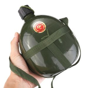 ۱-۵L-Outdoor-Aluminum-Military-Water-Bottle-with-Shoulder-Strap-Military-Training-Army-green-travel-kits_001