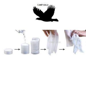 قرص دستمال فشرده