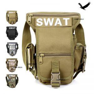 کیف تاکتیکال دوشی و زانویی SWAT