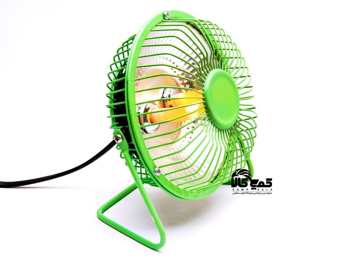 بخاری برقی 6 اینچی پایه دار