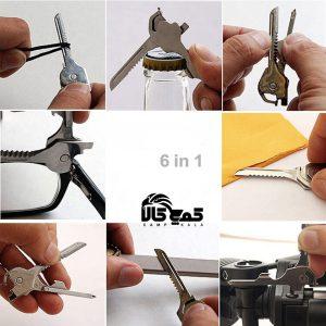 ابزار سوییسی 6 کاره تاکتیکال