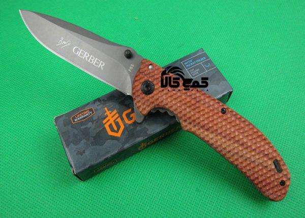 چاقوی گربر f63 شکاری